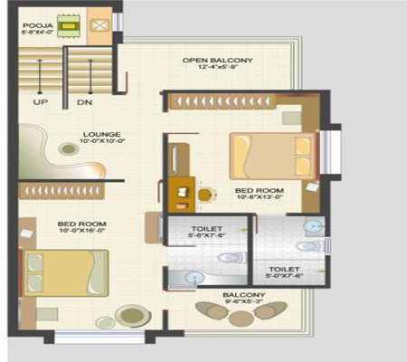 2 bhk independent house designs joy studio design for Individual house plans