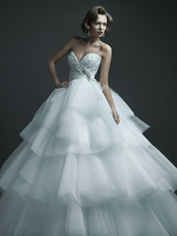 Some models dress women ersa atelier 2013 wedding dresses for Ersa atelier wedding dress