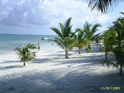Strandtag Mexiko