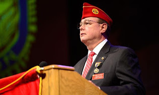 National Commander Dan Dellinger