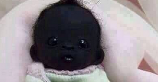 BLACKEST and DARKEST BABY IN THE WORLD