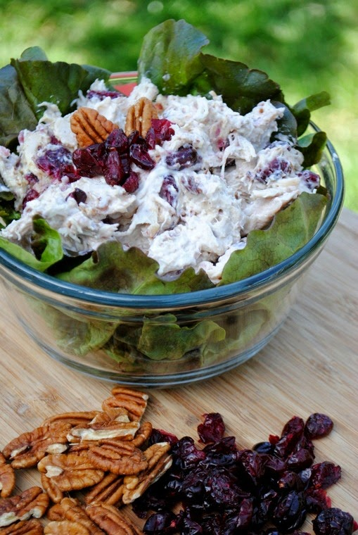Cooke's Frontier: Chicken Salad With Cranberries and Pecans