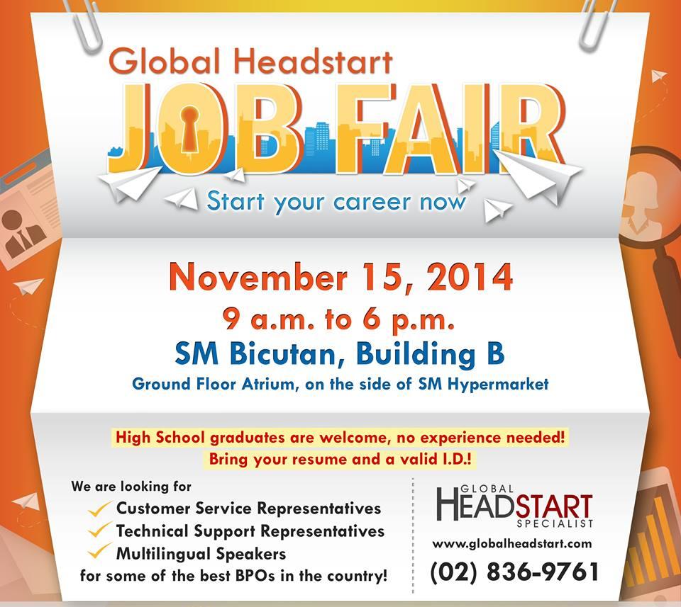 Global Headstart Job Fair
