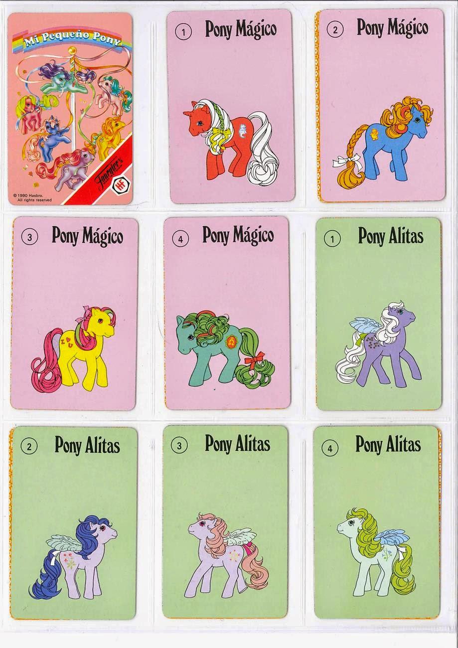 Barajas y Naipes: Mi Pequeño Pony