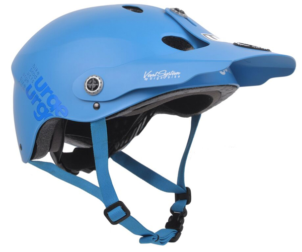 New All-In Helmet From Urge BP in Blue