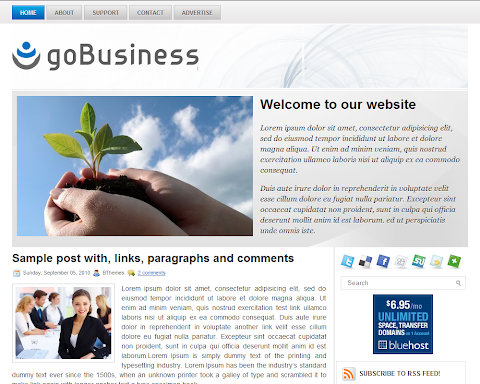 goBusiness Blogger Theme