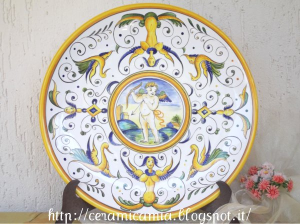 Ceramica che passione tipi delle decorazioni su maiolica - Decorazioni grottesche ...