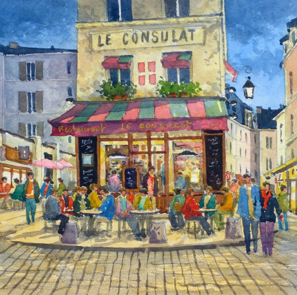 Jean Charles Decoudun Le Consulat de Savoie restaurant Montmartre Paris