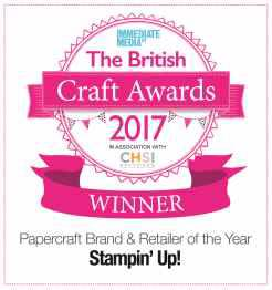 Papercraft Brand and Retailer of the Year