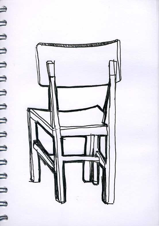 Como dibujar una silla imagui for Sillas para dibujar