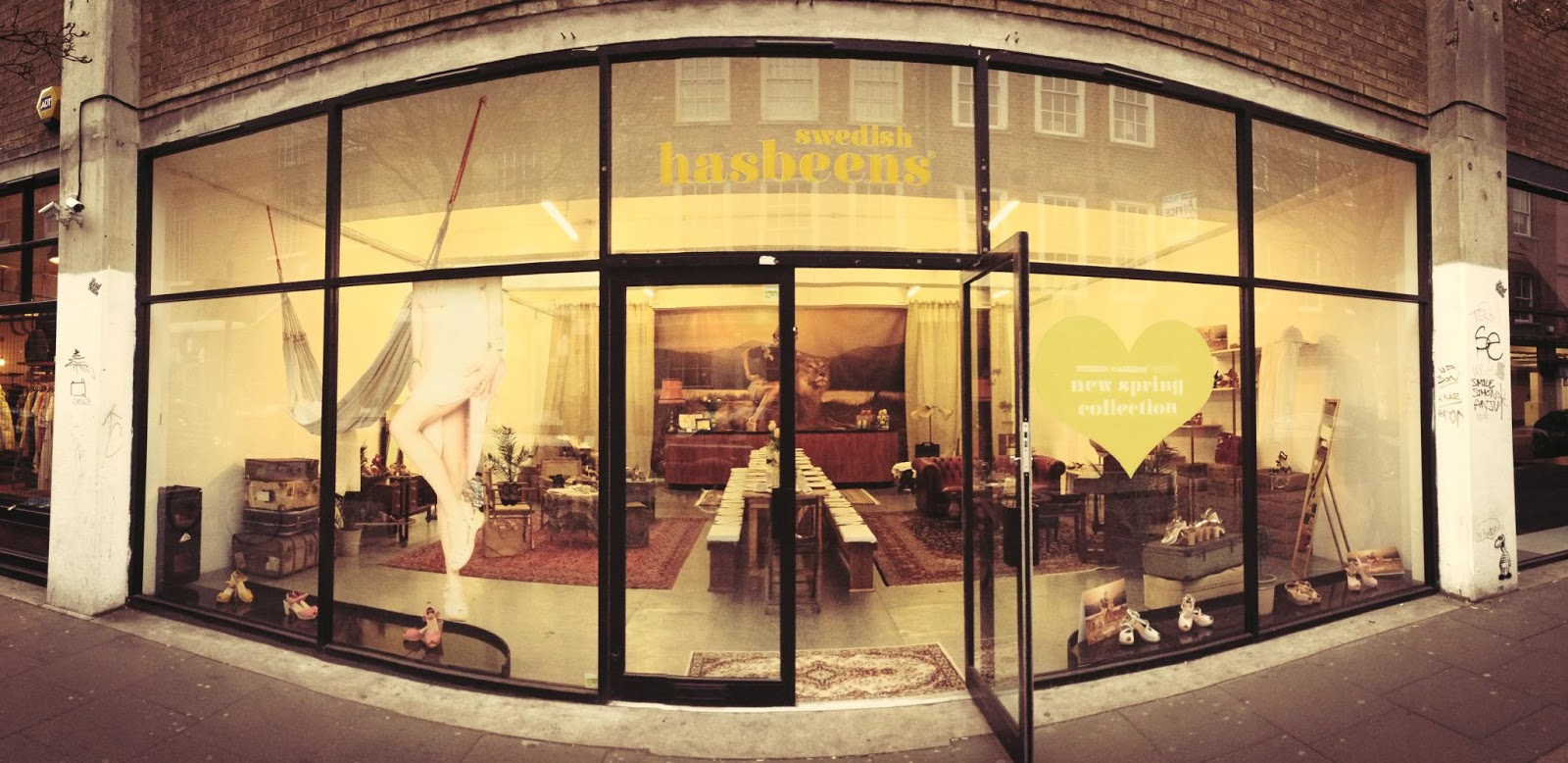 Swedish Hasbeens Launch East Ldn PopUp – Sweden Calling