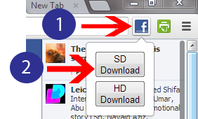 Download Facebook Videos In Google Chrome