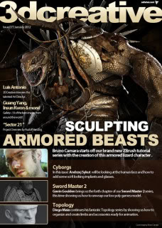 3DCreative Magazine Issue 77 January 2012