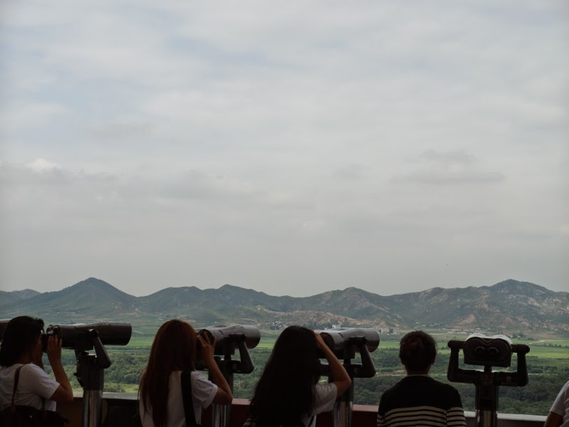Ewha Summer Studies DMZ Observatory Seoul South Korea lunarrive travel blog