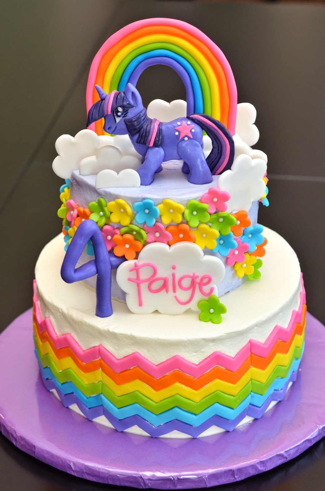 Vernon Volumes Paiges My Little Pony cake and fun at Serenata