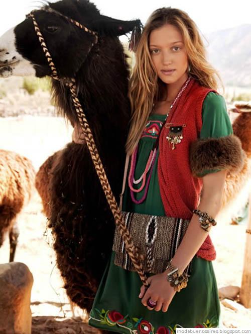 India Style otoño invierno 2012. Blog de Moda Argentina. Moda Invierno 2012.