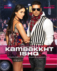 Poster Of Hindi Movie Kambakkht Ishq (2009) Free Download Full New Hindi Movie Watch Online At worldfree4u.com