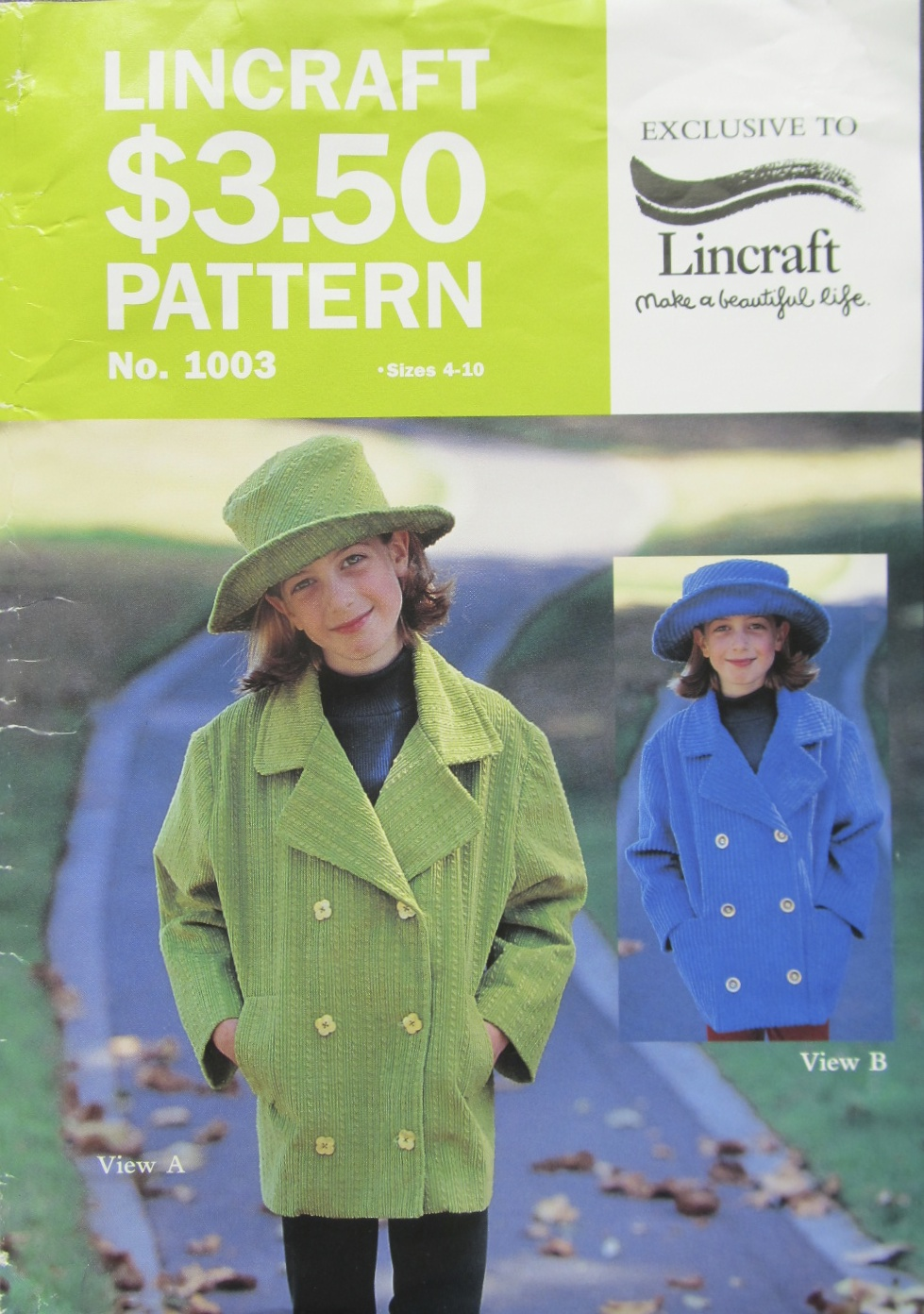 In my sewing box i found this lincraft pattern no 1003 for fifty cents at the charity shop and decided to have a go at making my own the hat in the photo on the pattern jeuxipadfo Gallery