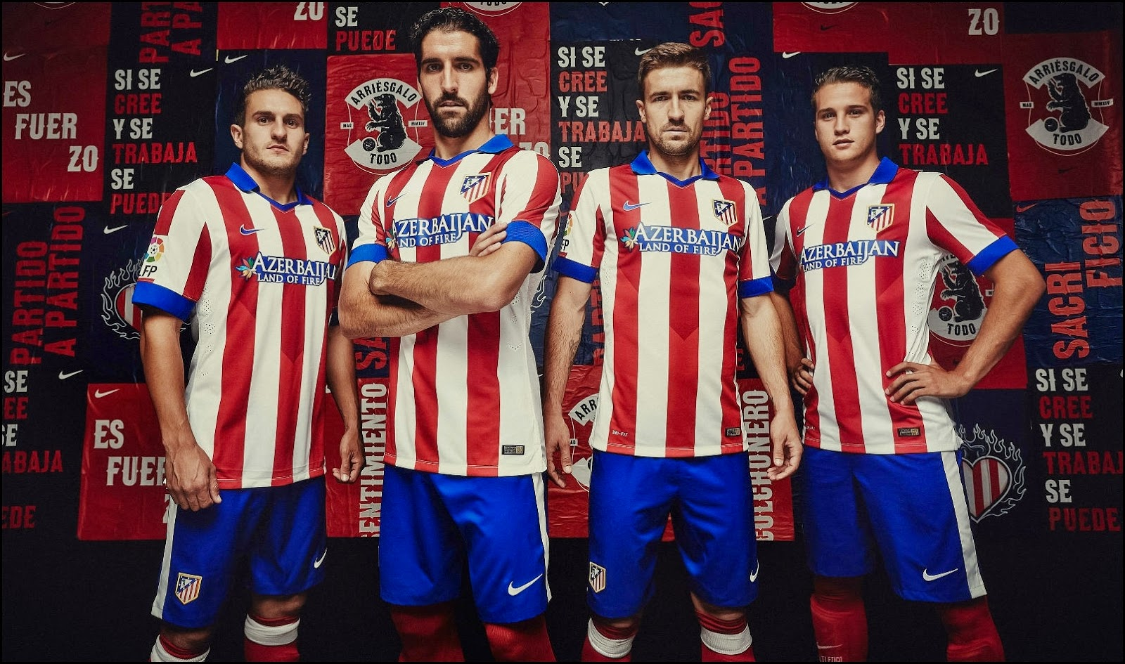 Atletico Madrid 2014-15-Home Kit