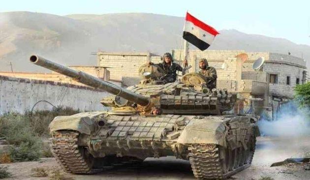 Ο συριακός στρατός απελευθέρωσε πολλές πετρελαιοπηγές που κατείχε το Ισλαμικό Κράτος