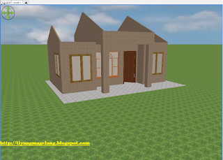 creat roof at sweet home 3d