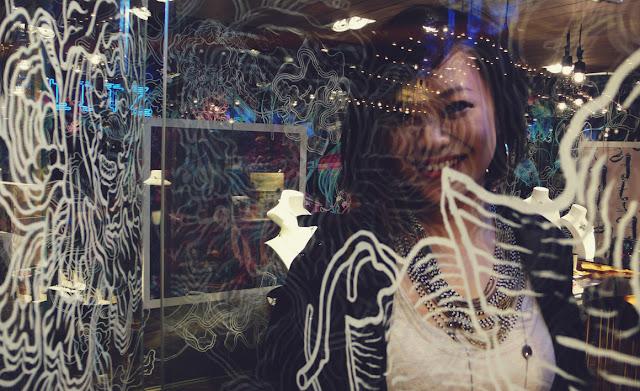 james jean painted glass at blitz lane crawford