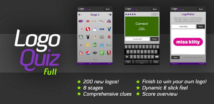 Logo Quiz para android, ¿Que tantos logos conoces? | iOSdroides