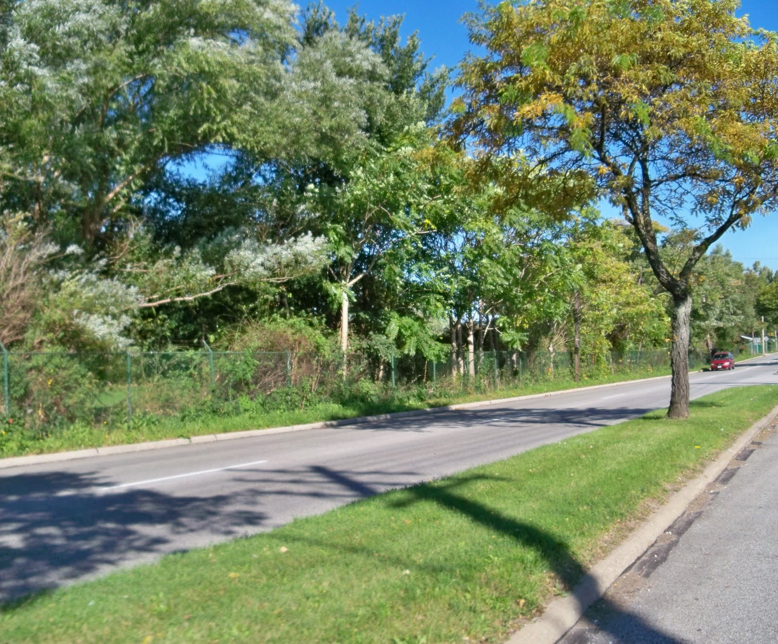 as these pictures demonstrate warrensville center road is currently underused traffic on that road peaked around 1970 when the population of the area