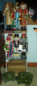 Small Shelf of Nutcrackers
