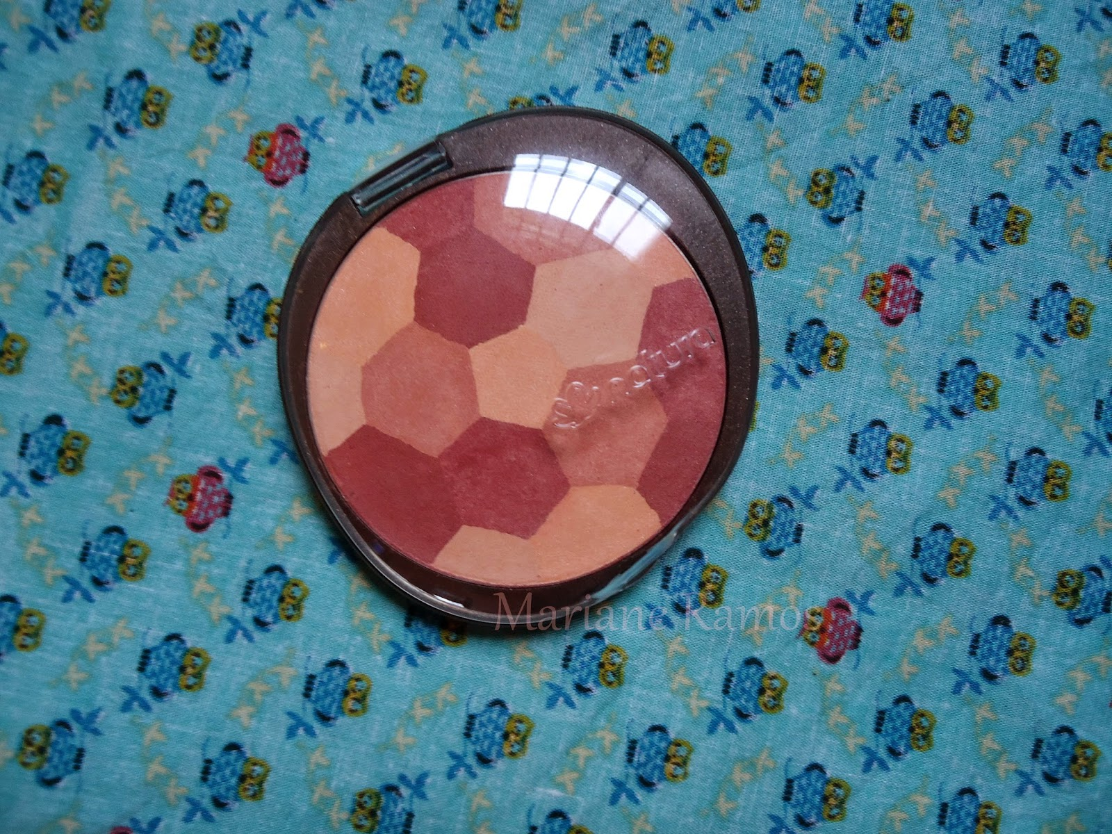 blush mosaico natura aquarela cor rosado