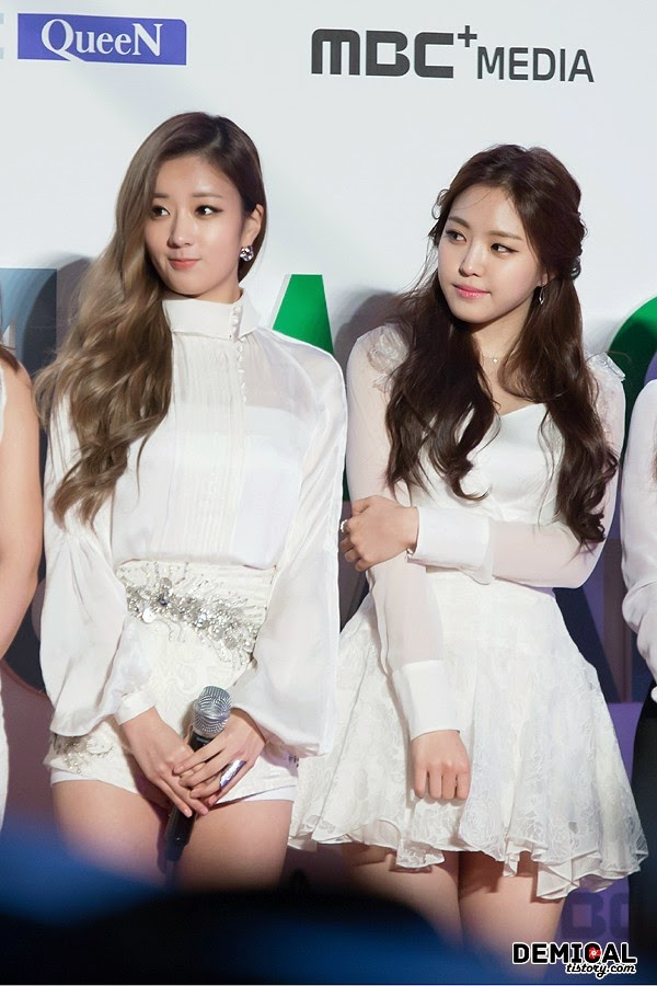 2014 Melon Music Awards Bomi Naeun