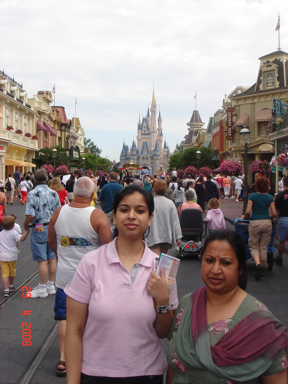 Main Street in Magic Kingdom in Orlando