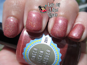 Knight of hell Finger Lickin lacquer