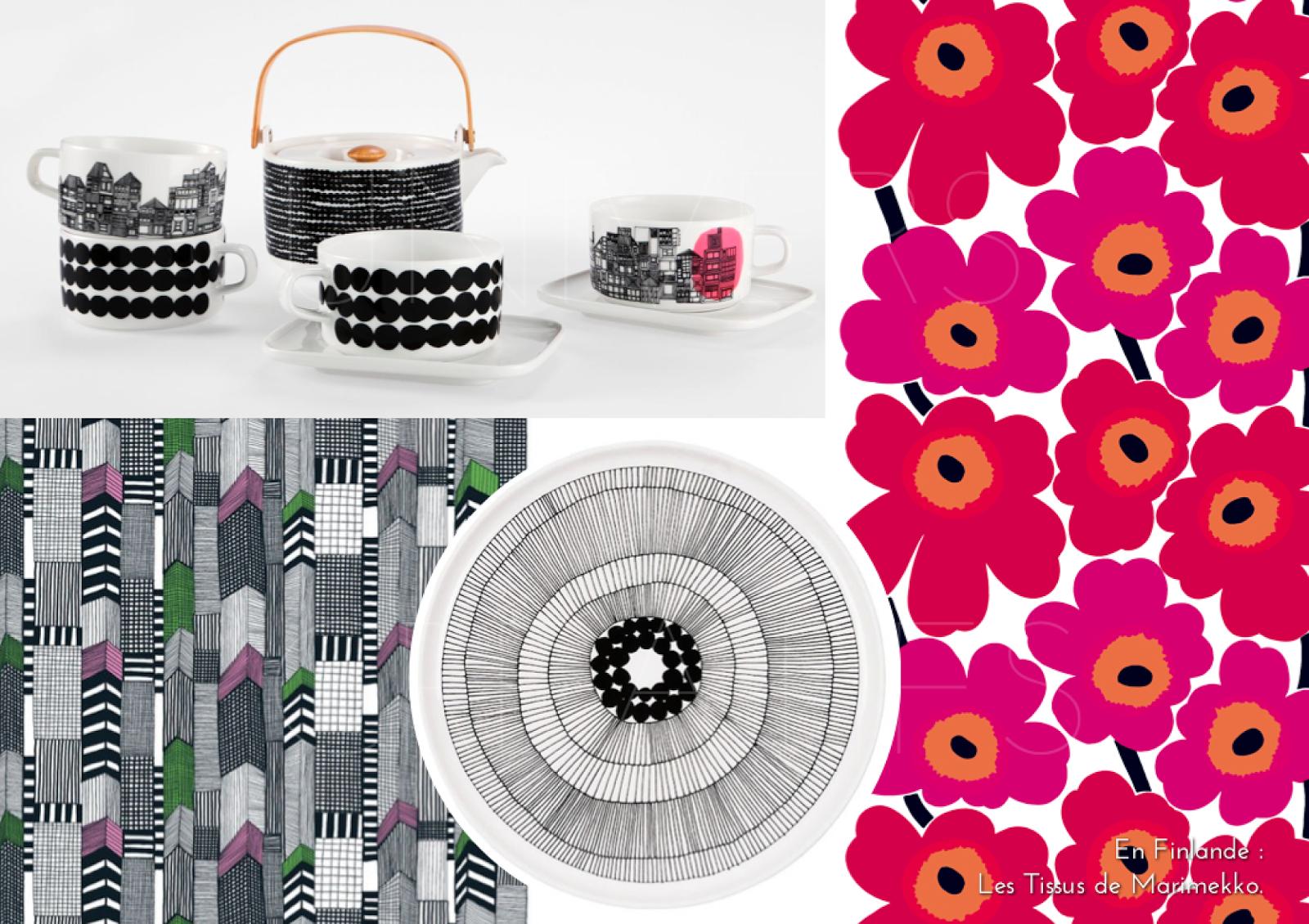 univers creatifs en finlande les tissus de marimekko. Black Bedroom Furniture Sets. Home Design Ideas