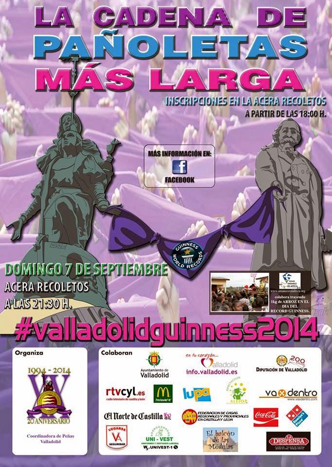 Record Guinnes Ferias Fiestas Valladolid.2014