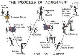 Process of adjustment - culture shock