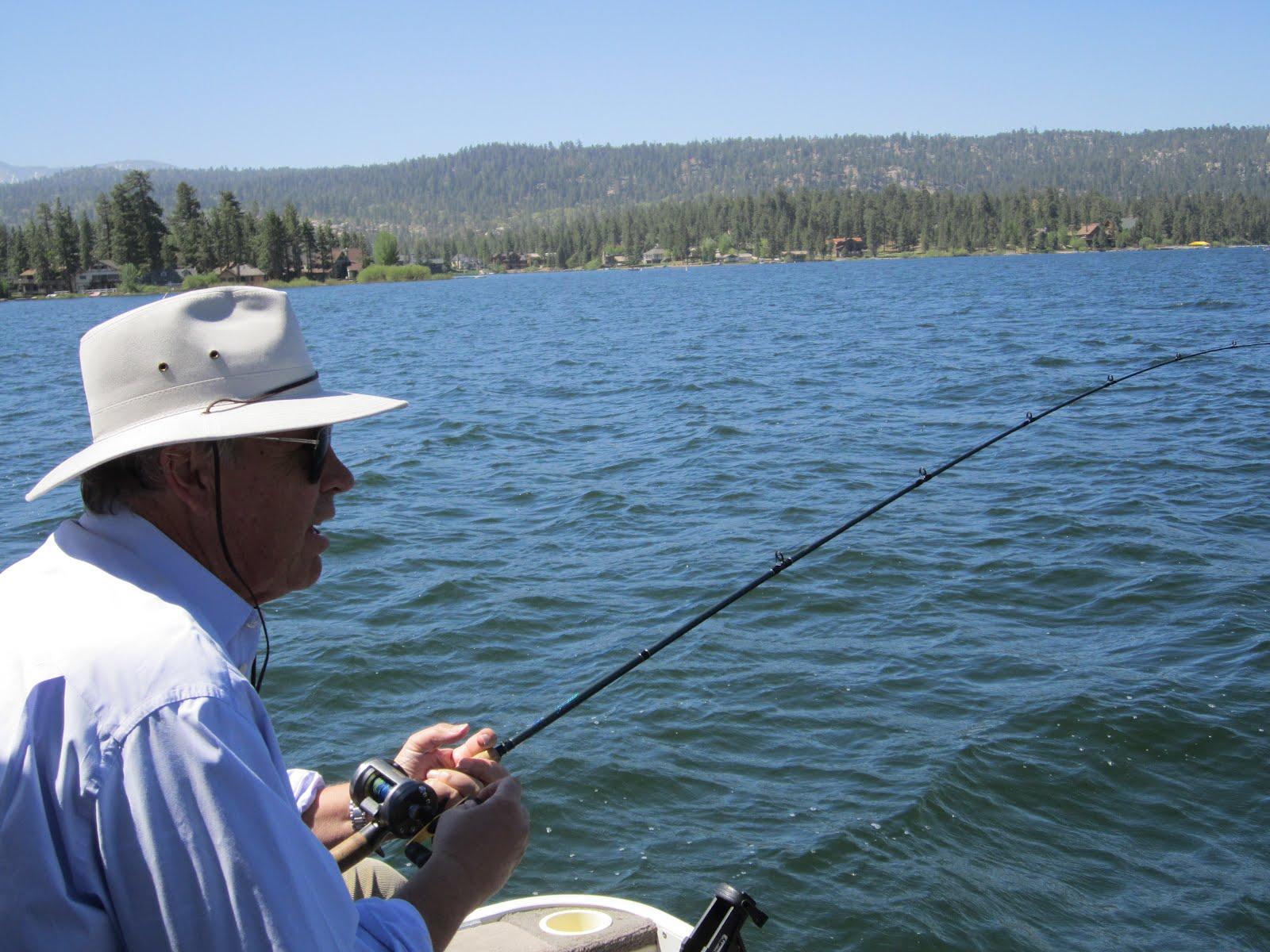 Gold rush resort rentals blog looking forward to for Fishing in big bear