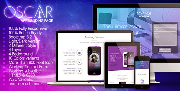 Bootstrap App Landing Page Theme