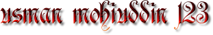 BLOGSPOT TUTORIALS ONLINE| USMAN MOHIUDDIN 123