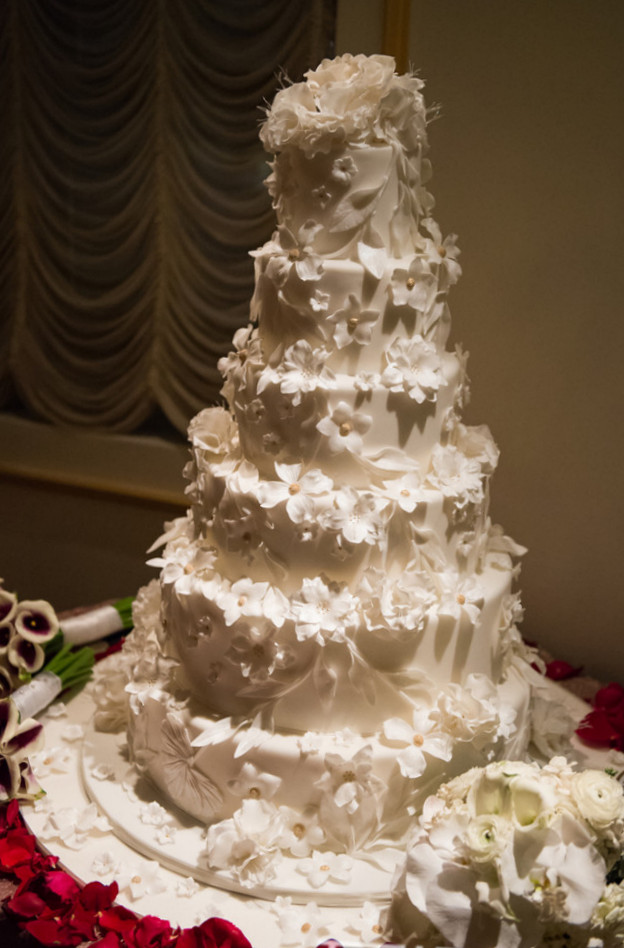 For the Love of Cake by Garry Ana Parzych Winter Wedding Cake at