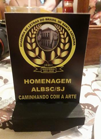 Homenagem da ALBSC São José