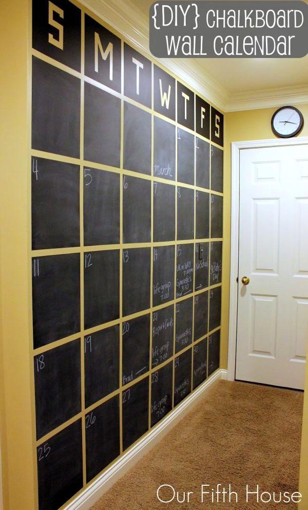 duży kalendarz ściana
