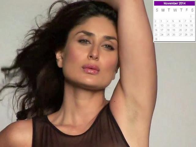 Kareena Kapoor Calendar 2014