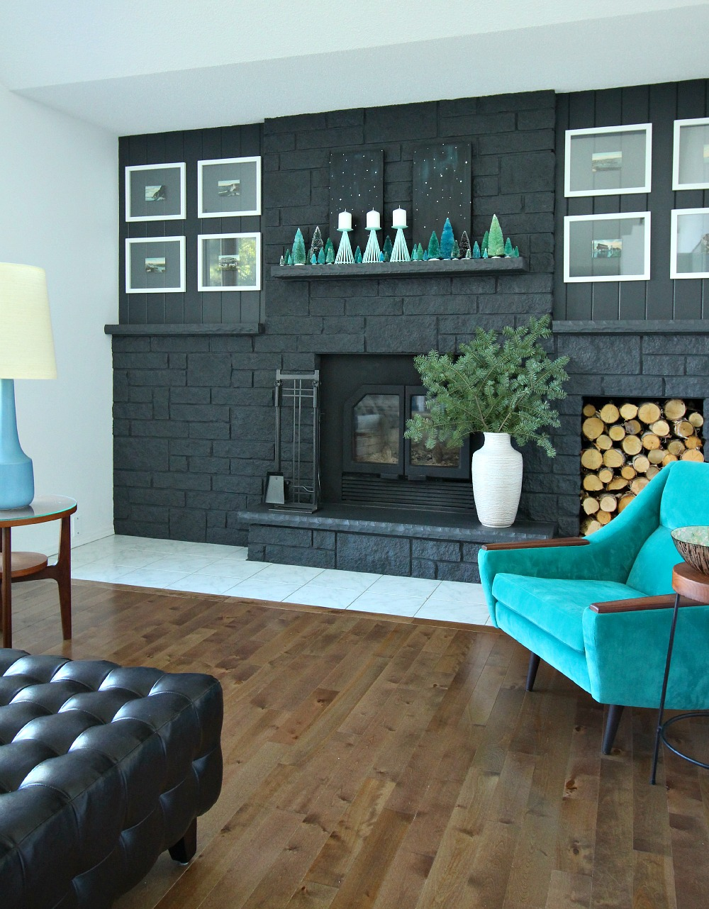 How to decorate with turquoise and teal for the holidays