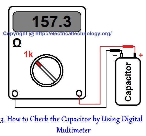 Check Ac Capacitor With Multimeter : How to check a capacitor with digital multi meter methods