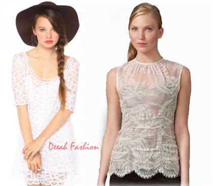 Busana Lace Brokat Trend Fashion Terbaru