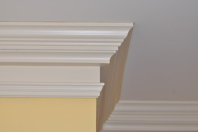 Eat sleep decorate adding character to your home molding for 9 inch crown molding