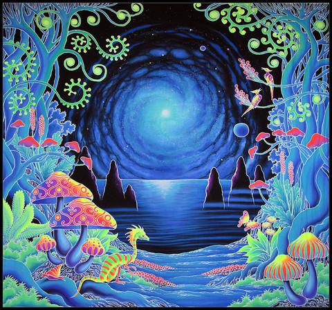 zebra psychedelia wall art - photo #29