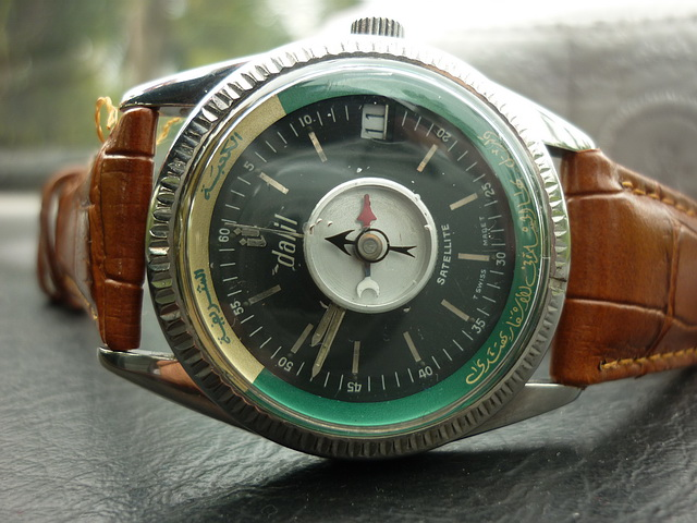 Jam otai vintage watches dalil watches with compass sold for Watches with compass