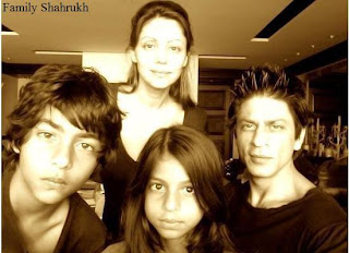 SRK and family